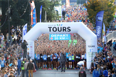20 km Tours Running Loire Valley